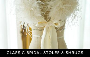 Classic Bridal Stoles & Shrugs
