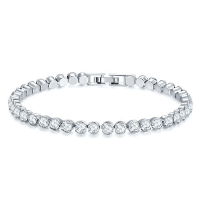 CUBIC ZIRCONIA COLLECTION - CLASSIC TENNIS BRACELET CZBRA31