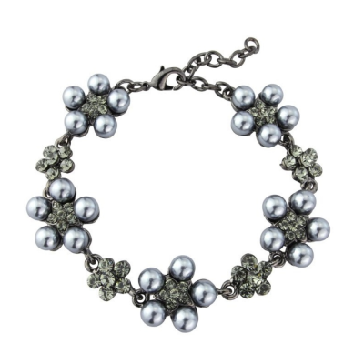 ELITE COLLECTION - CHIC PEARL BRACELET - GREY (VC50)