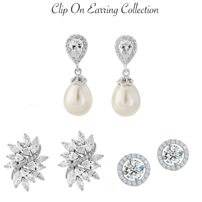 Clip On Earring Collection 4
