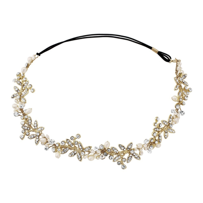 Luxe Embellished Hairvine - SASSB - 14K Gold Plated