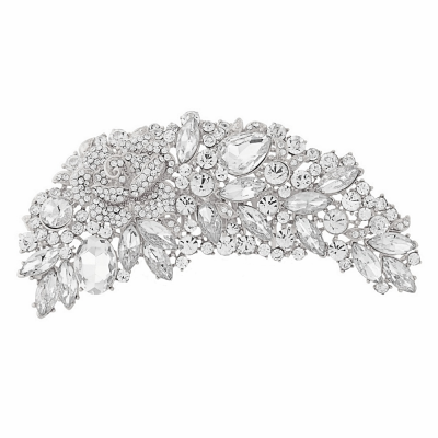 Exquisite Bridal Brooch - Clear (brooch 6)