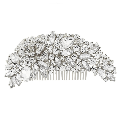 Exquisite Bridal Hair Comb - (HC6)