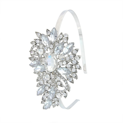 Crystal Chic Headband  - Clear (HB340)