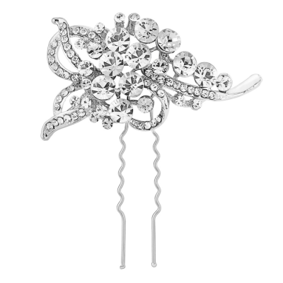 ELITE COLLECTION - Vintage Inspired Hair Pin - Clear (Pin 3)