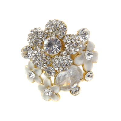 Luscious Rocks Cocktail Ring - Gold (R25)