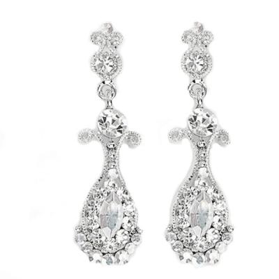 Swarovski Crystal Petite Chandelier Earrings - Clear (S-ER11)