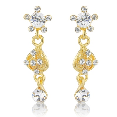 Eternal Elegance Earrings - Gold (S-ER15) REDUCED TO CLEAR