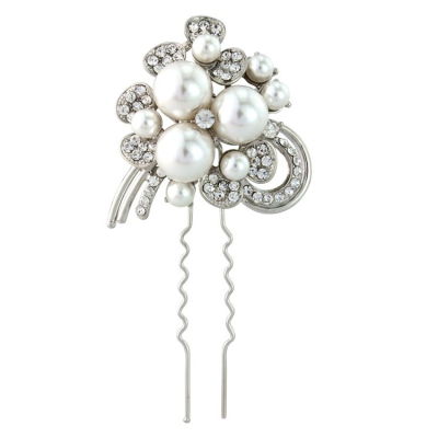 ELITE COLLECTION - Crystal & Pearl Luxe Pin (Pin 20)