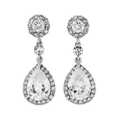 Crystal Chic Earrings - Clear (ER75)