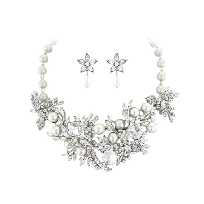 ELITE COLLECTION - Opulent Luxe Pearl Necklace - (NK2988)