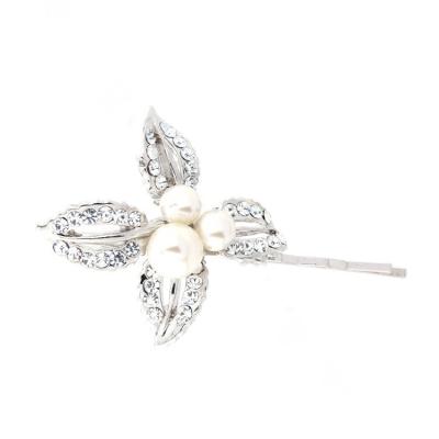 Classic Pearl Clip - ivory (S-HA5)