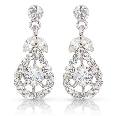 Precious Crystal Earrings - Clear (S-ER27)
