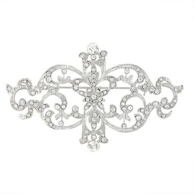 Vintage starlet Brooch - Clear (Brooch107)