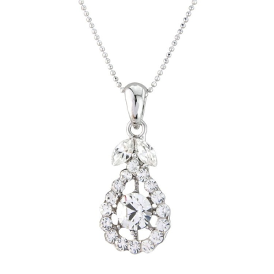 Precious Crystal Necklace - Clear (S-NK17)