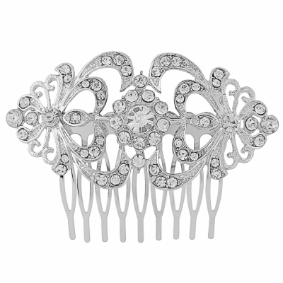 Athena Crystal Hair Comb (HB105)