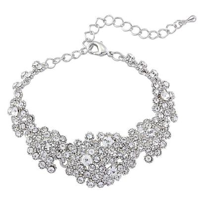 Crystal Cluster Bracelet - S-BR18