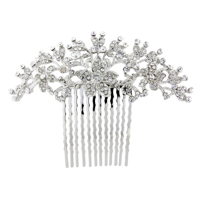 Crystal Spray Hair Comb - HC109