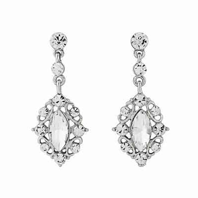 Timless Beauty Earrings - Silver (ER120)