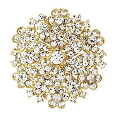 Starlet Bridal Brooch - Gold