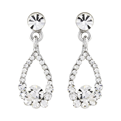 Swarovski & CZ Collection - Crystal Gem Earrings - S-ER36