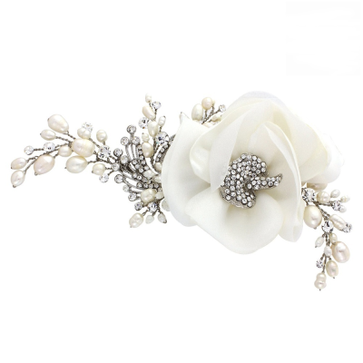 Miriam Wedding Headpiece - Ivory HP12- SASSB
