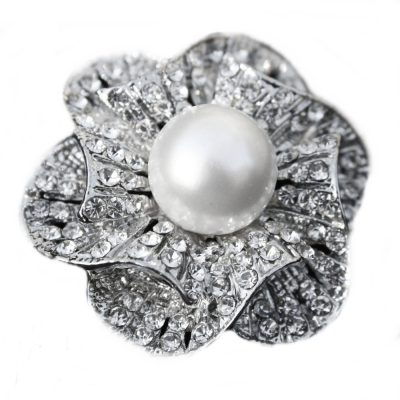 Chic Bridal Brooch - (BRCH124)
