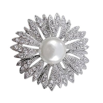 Starlet Glam Bridal Brooch - (BRCH129)