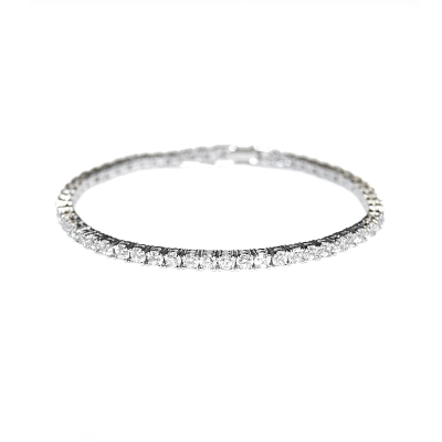 Cubic Zirconia Collection - Simply Chic Tennis Bracelet - BRA2