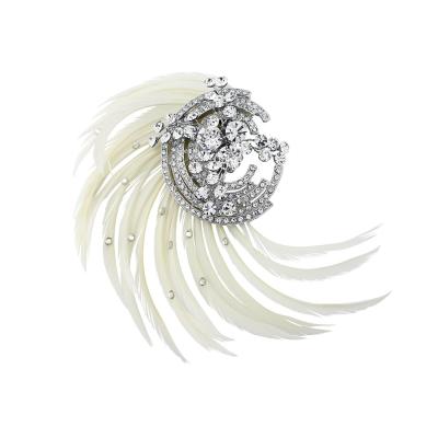 Adoria Luxe Feather Headpiece - SASSB