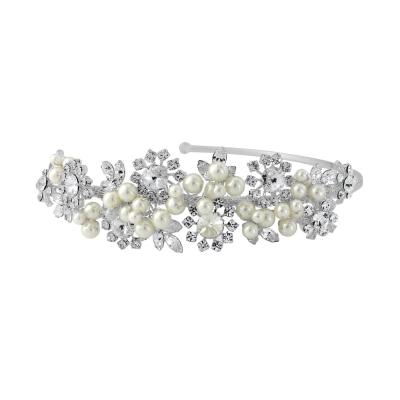 Sofia Luxe Pearl Headband - SassB HDB22