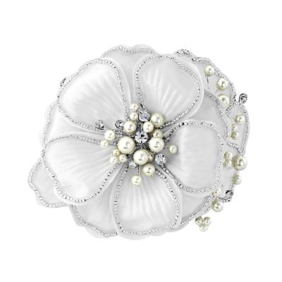 Serenity Chic Pearl Comb Headpiece - Ivory - SASSB