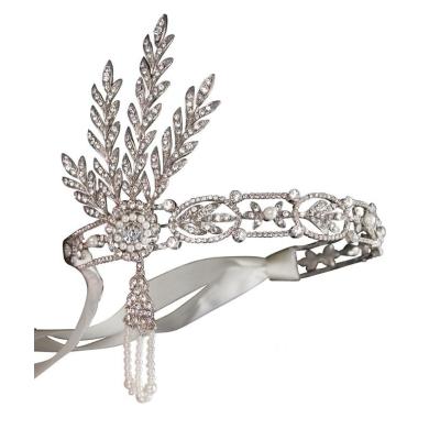 Luxe Gatsby Headband - Ivory SASSB
