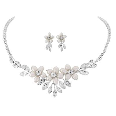 Eternally Pearl Necklace Set - NK8a SASSB