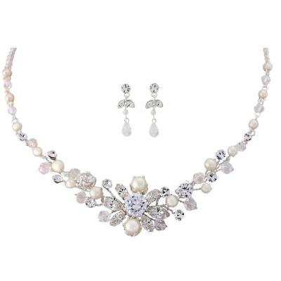Timeless Elegance Necklace Set - NK9 SASSB