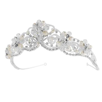 Adelina - Exquisite Treasure Tiara - SASSB - Silver