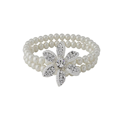 Starlet Chic Pearl Bracelet - SASSB - Ivory