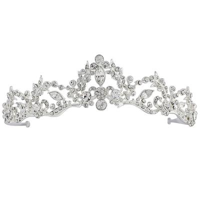 Lavina Tiara - Crystal Embellished - SASSB - Silver