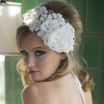 Juliana Headpiece - Ivory - SASSB