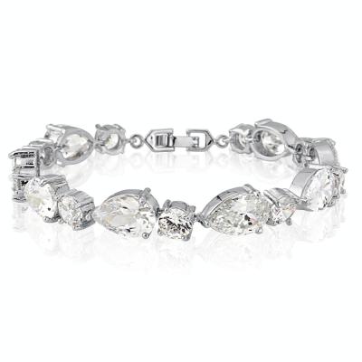Cubic Zirconia - Classic Crystal Bracelet - BRA6