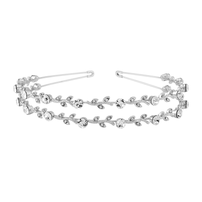 Crystal Chic Headband- Double Row (S-HB300)