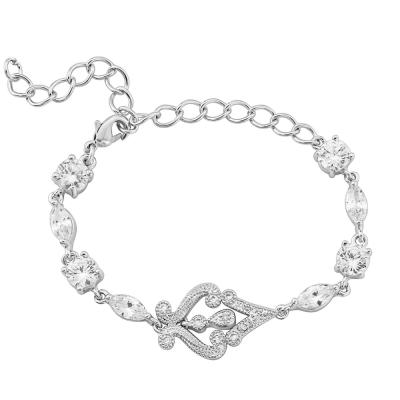 Cubic Zirconia Enchanting Bracelet - CZBRA11