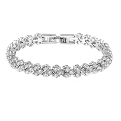 Cubic Zirconia - Crystallure Bracelet - BRA10