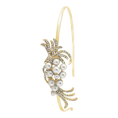 Chic Pearl Headband - GOLD - HB401