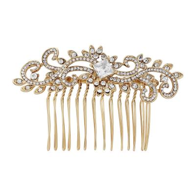 Dainty Gold Hair Comb - HC147