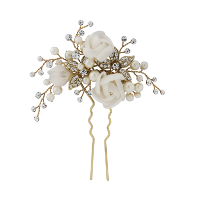 FREYA LUXE HAIR PIN 14K GOLD PLATED - SASSB HP5 GOLD