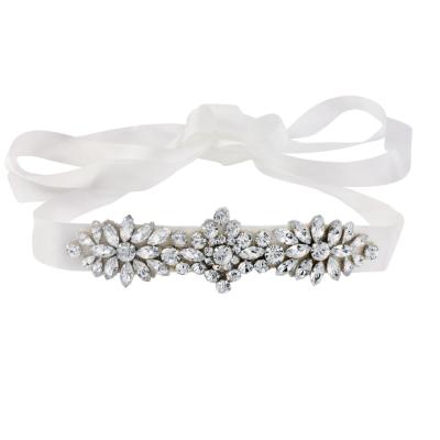 Starlet Bridal Sash - Ivory - Sash 9