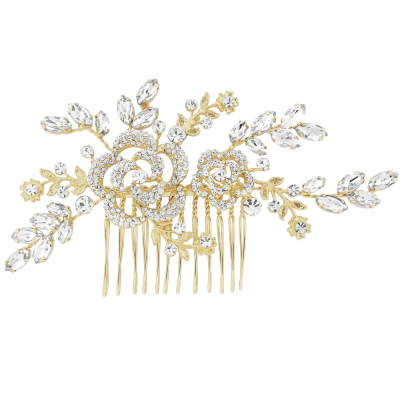 GRACEFUL BEAUTY HAIRCOMB - GOLD HC115