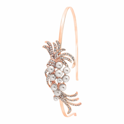 Chic Pearl Headband - HB401 ROSE GOLD