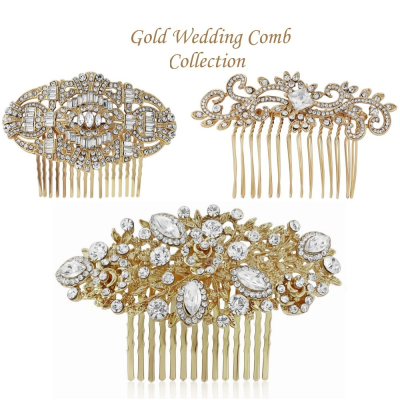 Gold Vintage Chic Comb Collection